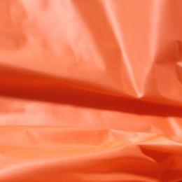 Ткань плащевая лаке ярко-оранжевая (метр )