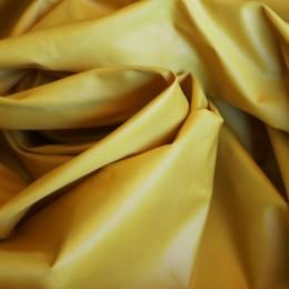 Ткань плащевая лаке горчичная (метр )