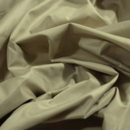 Ткань плащевая лаке бежевая (метр )