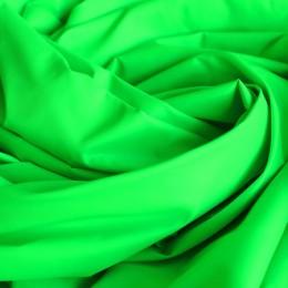 Ткань плащевка лаке салатовая (неон) (метр )