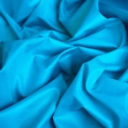 Ткань плащевка лаке голубая бирюза (метр )