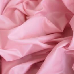 Ткань плащевка лаке розовая (метр )