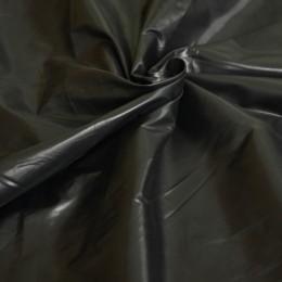 Ткань плащевка лаке черная (воронье крыло) (метр )