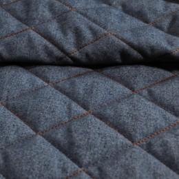 Ткань плащевка стеганная на синтепоне серая 2 (метр )