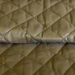 Ткань плащевка стеганная на синтепоне бежевая 2 (метр )