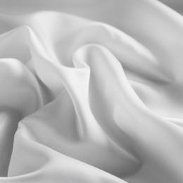 Ткань подкладочная нейлон белая (Италия) (метр )