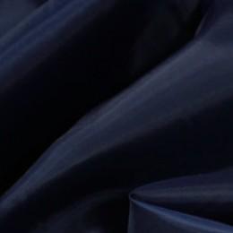 Ткань подкладочная нейлон темно-синяя (Италия) (метр )
