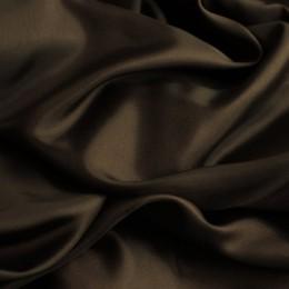 Ткань подкладочная коричневая (Италия)  (метр )