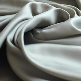 Ткань подкладочная нейлон светло-серая (Италия) (метр )