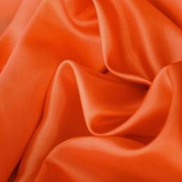 Ткань подкладочная нейлон оранжевая (Италия) (метр )