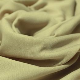 Ткань трикотаж подкладочный бежевый (метр )