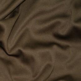 Ткань трикотаж подкладочный коричневый (метр )