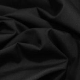 Ткань рубашечная черная 45802 (метр )