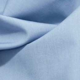 Ткань рубашечная голубая 45813 (метр )