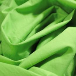 Ткань рубашечная стрейчевая салатовая L-001955 (метр )