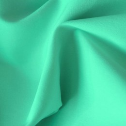 Ткань рубашечная стрейч мятная (метр )