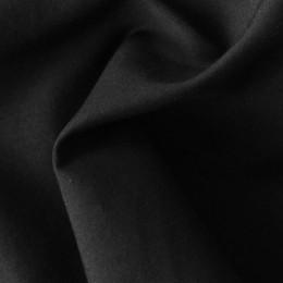 Ткань рубашечная стрейч черная (метр )