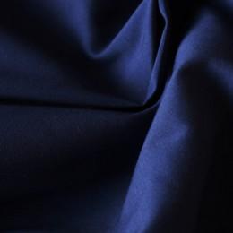 Ткань рубашечная стрейч темно-синяя (метр )