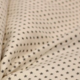 Ткань сатин хлопок принт звезды 66106 (метр )