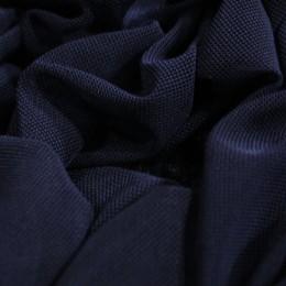 Ткань сетка стрейч темно-синяя (метр )