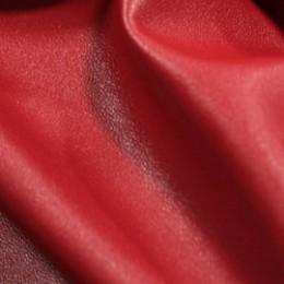 Ткань исскуственная стрейч кожа красная (метр )