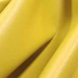 Ткань исскуственная стрейч кожа желтая (метр )