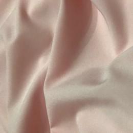 Ткань супер-софт принт горох на персиковом фоне (метр )