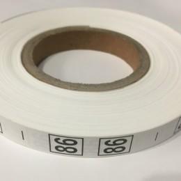 Размерная лента (накатка) 86 (1000 штук)