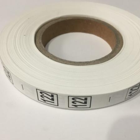 Размерная лента (накатка) 122 (1000 штук)