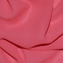 Ткань креп-шифон коралловый (метр )