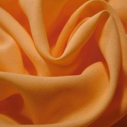Ткань креп-шифон оранжевый (метр )