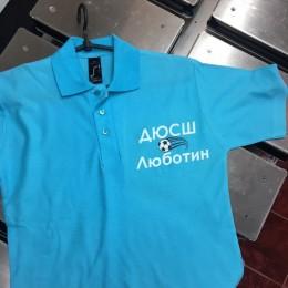 Прямая печать на футболке ДЮСШ 10х15см (Штука)