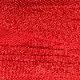 Бейка стрейчевая 15 мм красная (50 ярдов)