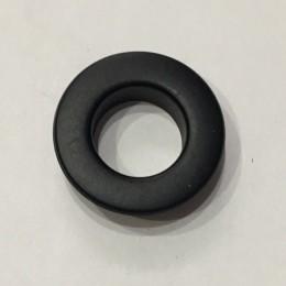 Люверс плоский 15мм №30 нержавейка черный (1000 штук)