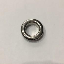 Люверс круглый 8мм №22 нержавейка никель (1000 штук)