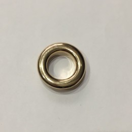 Люверс круглый 10мм №24 нержавейка золото (1000 штук)