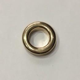 Люверс круглый 11мм №26 нержавейка золото (1000 штук)