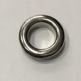 Люверс круглый 14мм №28 нержавейка никель (1000 штук)