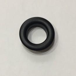 Люверс круглый 14мм №28 нержавейка черный (1000 штук)