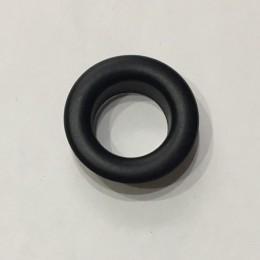 Люверс круглый 15мм №30 нержавейка черный (1000 штук)