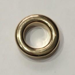 Люверс круглый 19мм №32 нержавейка золото (1000 штук)
