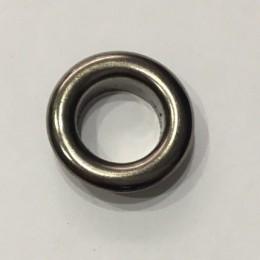 Люверс круглый 19мм №32 нержавейка темный никель (1000 штук)