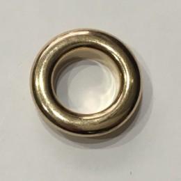 Люверс круглый 21мм №35 нержавейка золото (1000 штук)