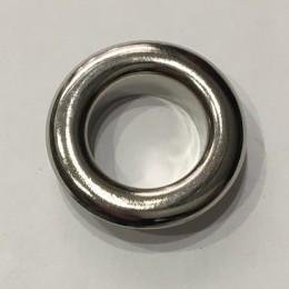 Люверс круглый 21мм №35 нержавейка никель (1000 штук)