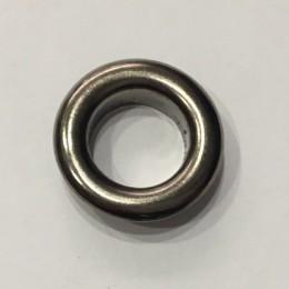 Люверс круглый 21мм №35 нержавейка темный никель (1000 штук)
