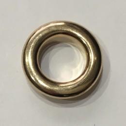 Люверс круглый 26мм №40 нержавейка золото (1000 штук)