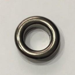 Люверс круглый 26мм №40 нержавейка темный никель (1000 штук)