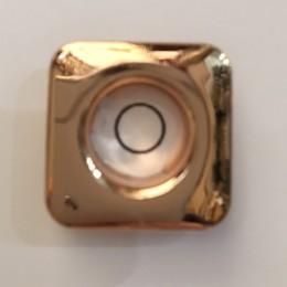 Люверс квадрат 14мм №28 нержавейка золото (1000 штук)