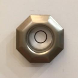 Люверс ромб 11мм №26 нержавейка матовый никель (1000 штук)