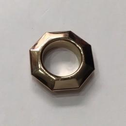 Люверс ромб 14мм №28 нержавейка золото (1000 штук)